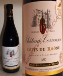 Chateau correnson - aoc cdr reserve rouge 75cl